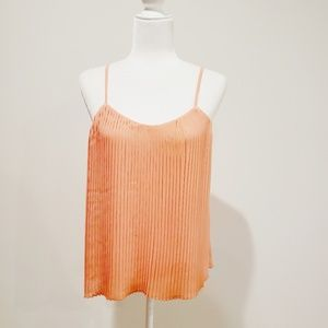 💜 Cato Pleated Tank Top